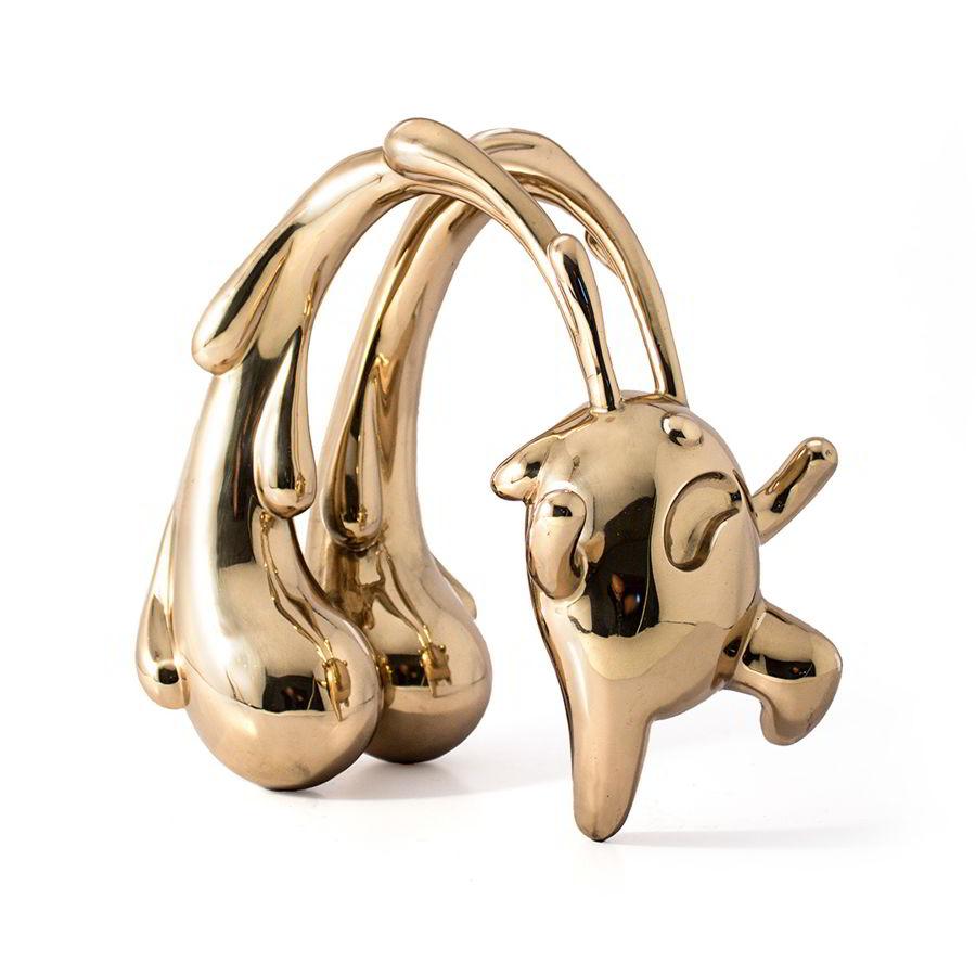 Scared Bear Polished Bronze Ferdi B Dick